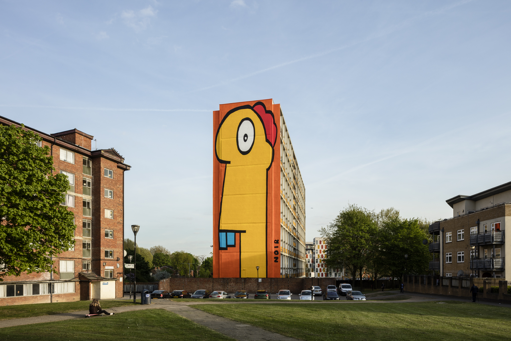Thierry Noir - Acton Mural18