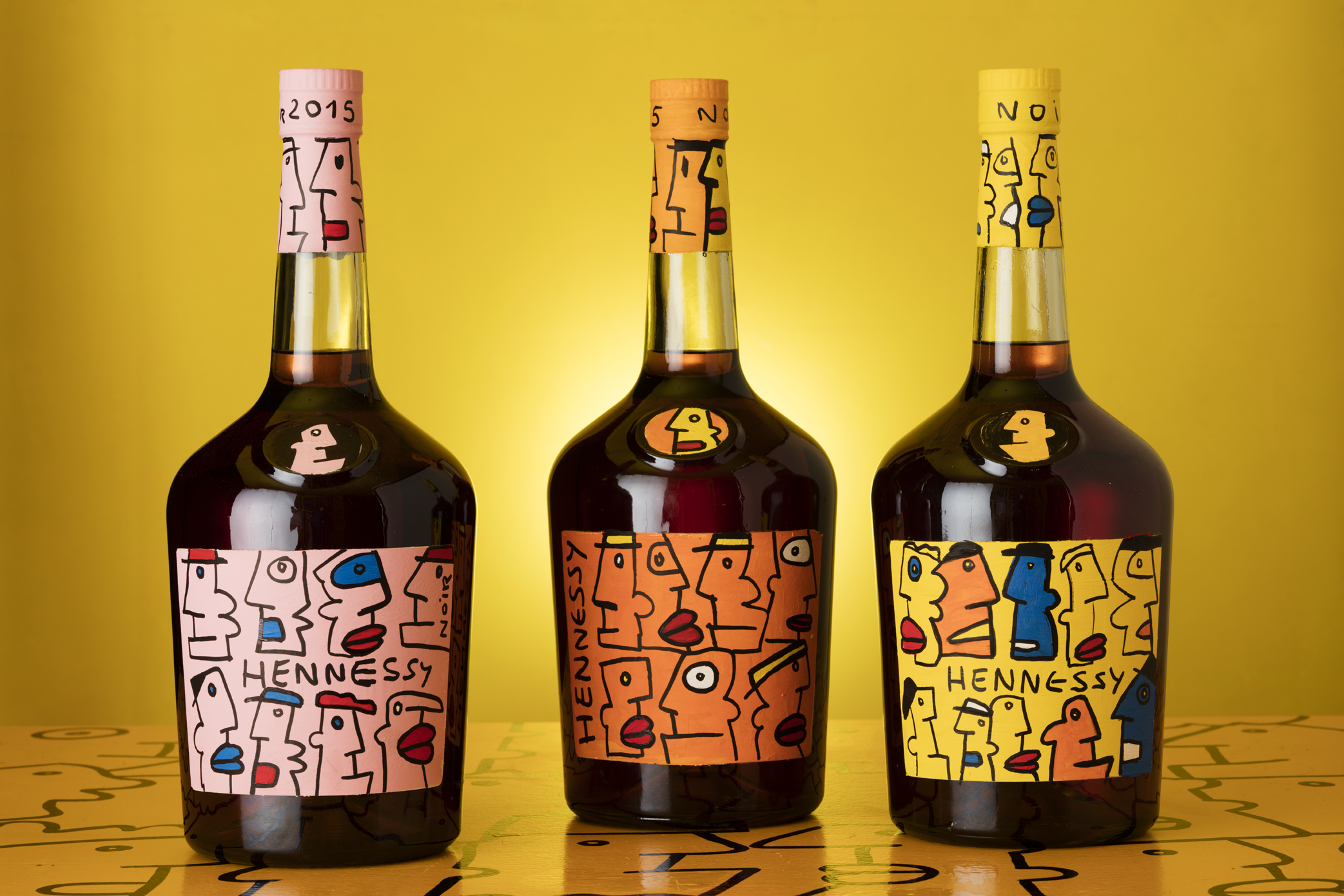 Thierry Noir - Hennessy Trio