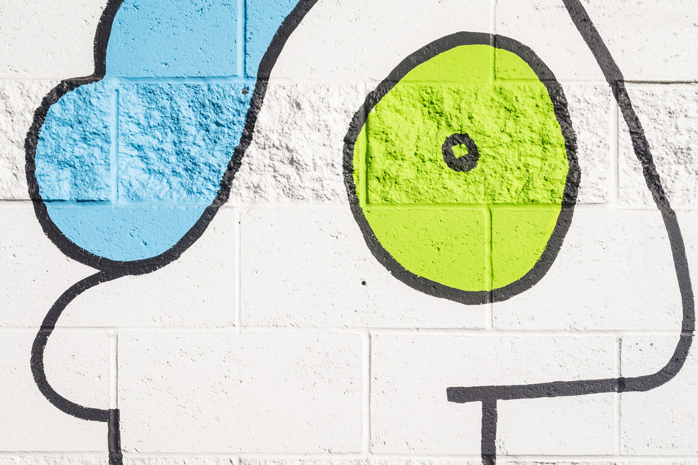 Thierry Noir Los Angeles NOHO Mural-13