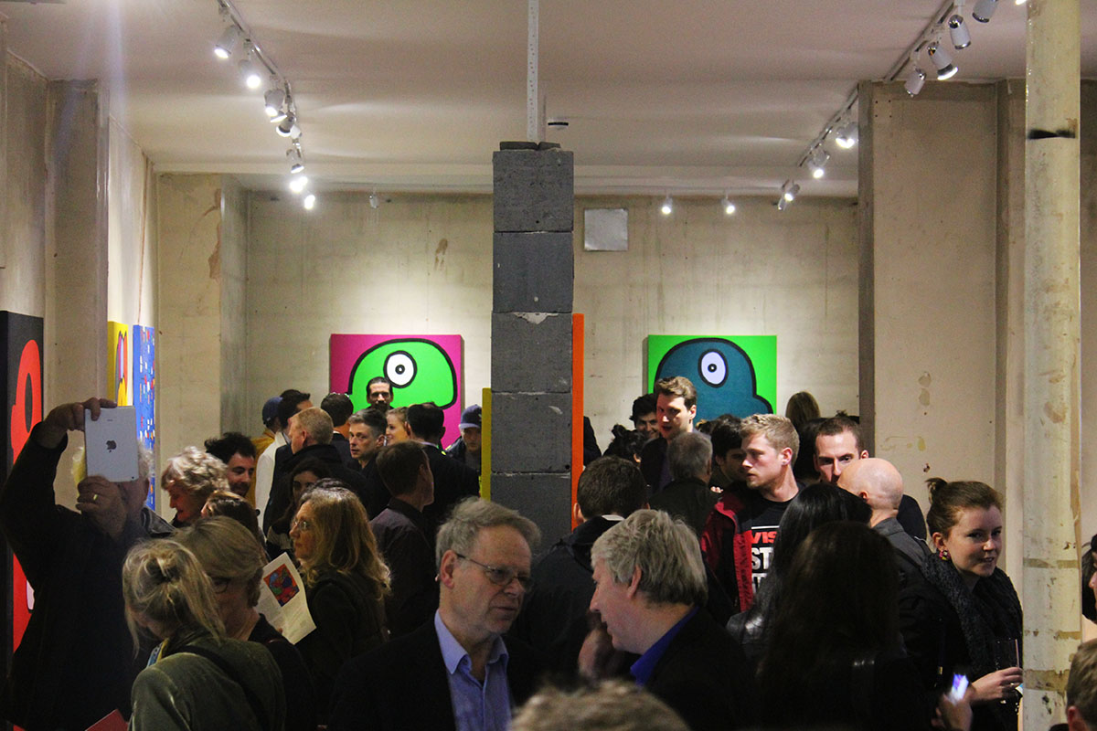 Thierry Noir Opening
