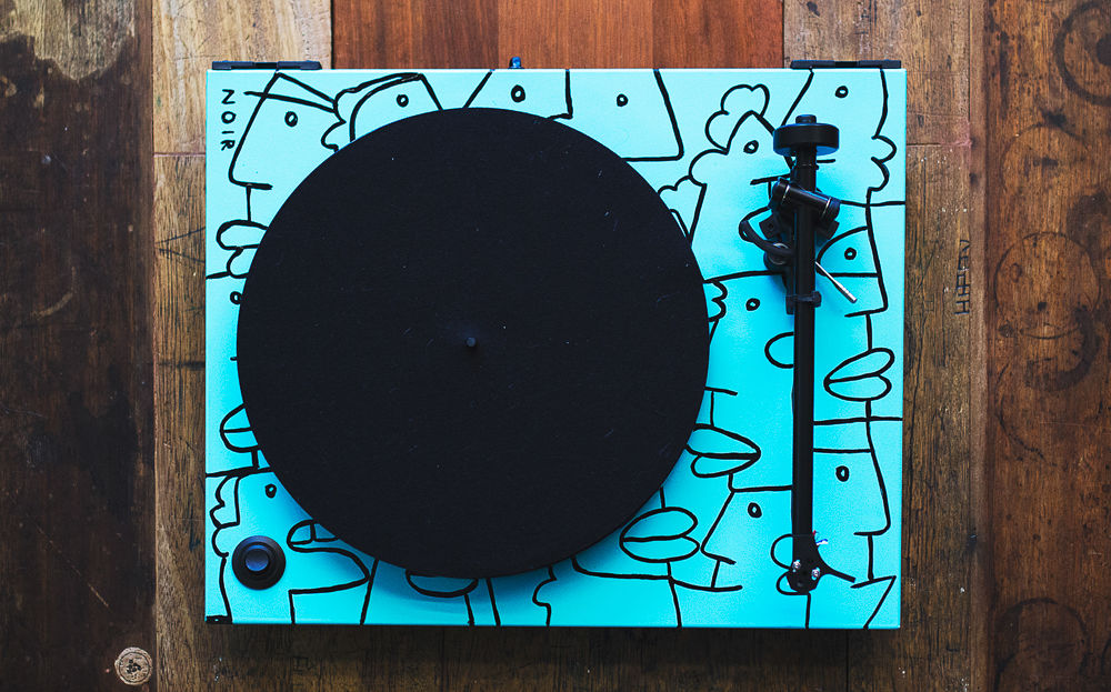 Thierry Noir Rega Turntable 1