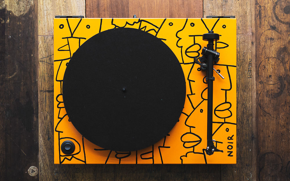 Thierry Noir Rega Turntable 2