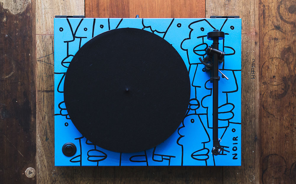 Thierry Noir Rega Turntable 3