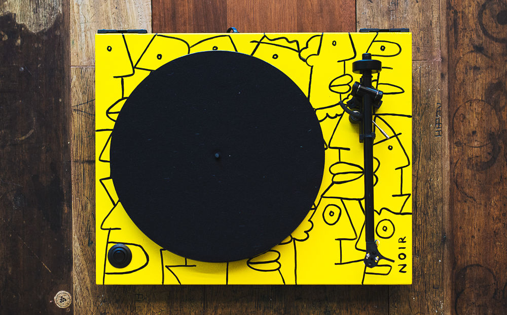 Thierry Noir Rega Turntable 4