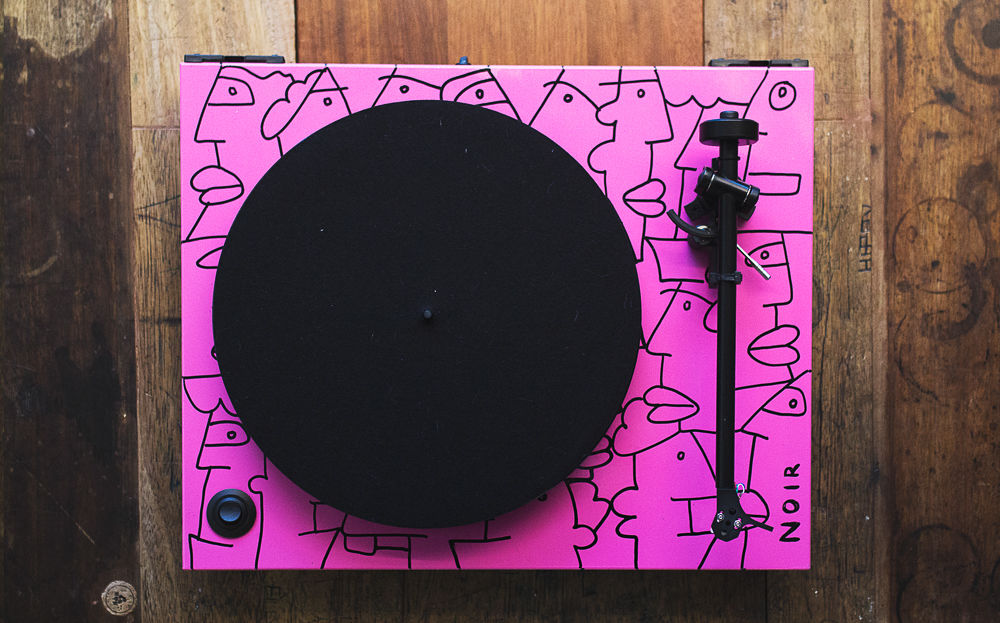 Thierry Noir Rega Turntable 5
