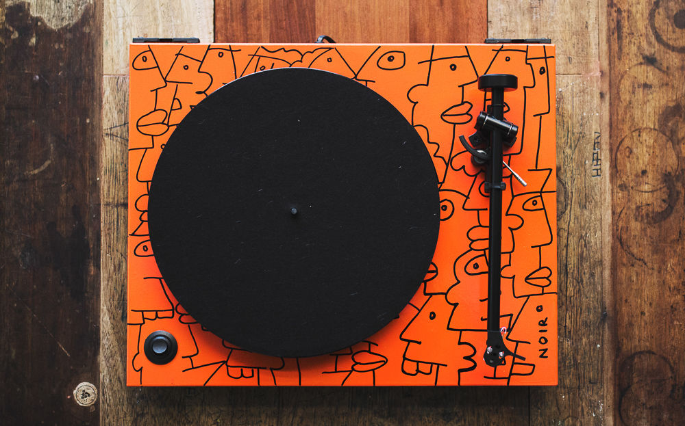 Thierry Noir Rega Turntable 6
