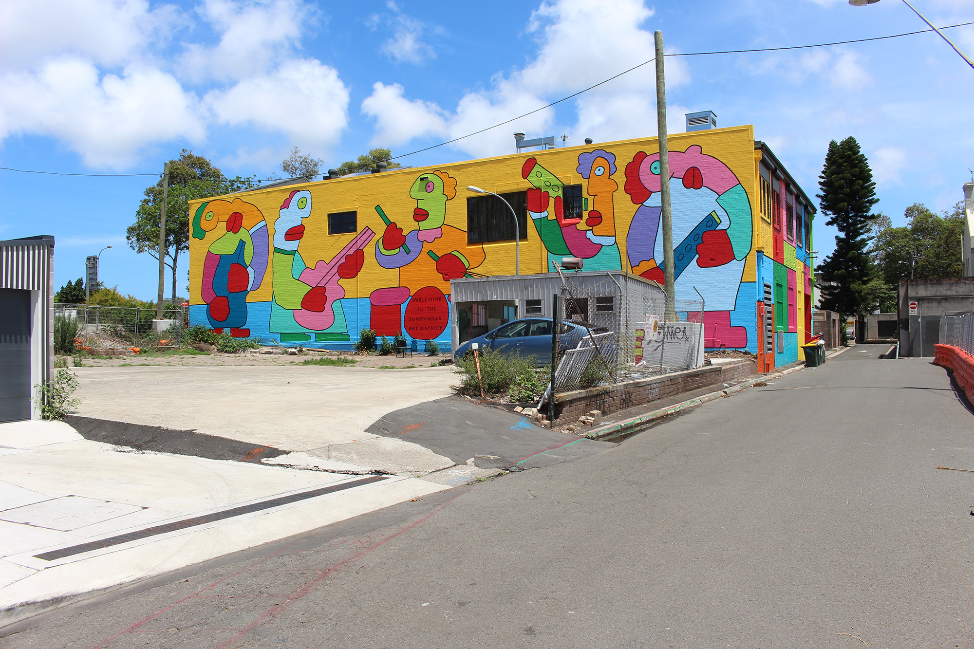 Thierry Noir - Surrey Hills, Sydney