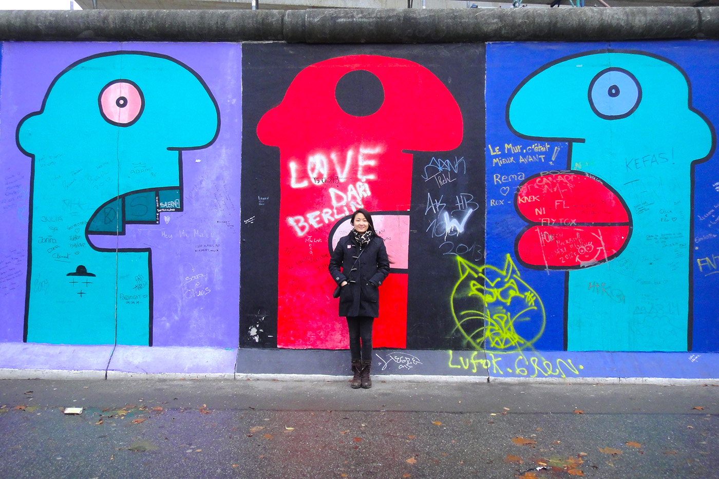 Thierry Noir - East Side Gallery-3