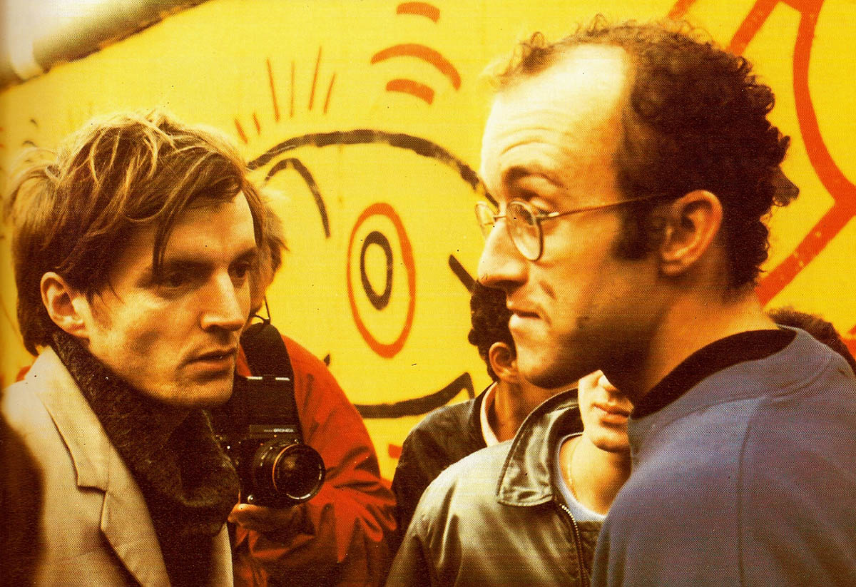 Thierry Noir and Keith Haring