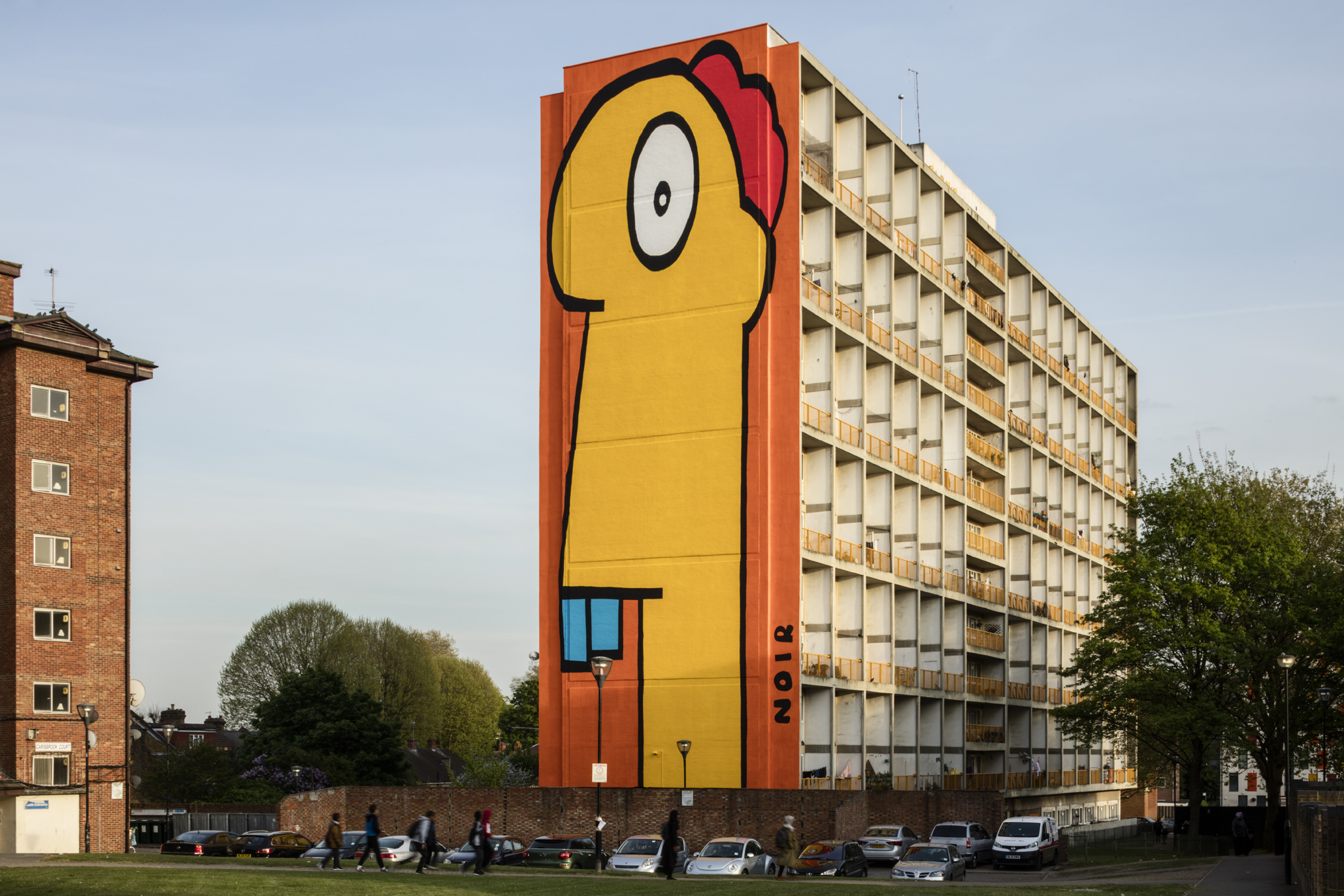 Thierry Noir - Acton Mural24