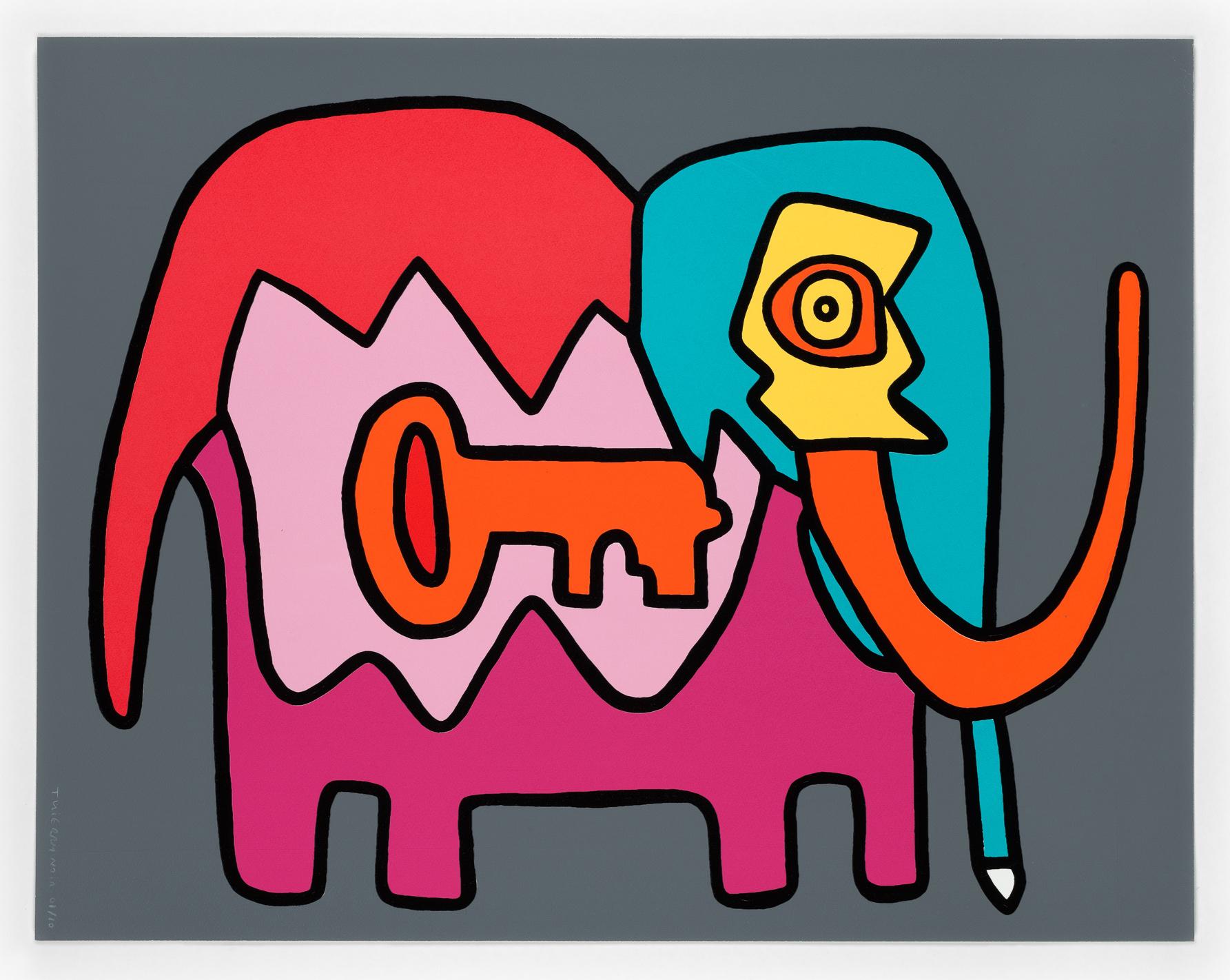 Thierry Noir - Elephant Key (Dark)