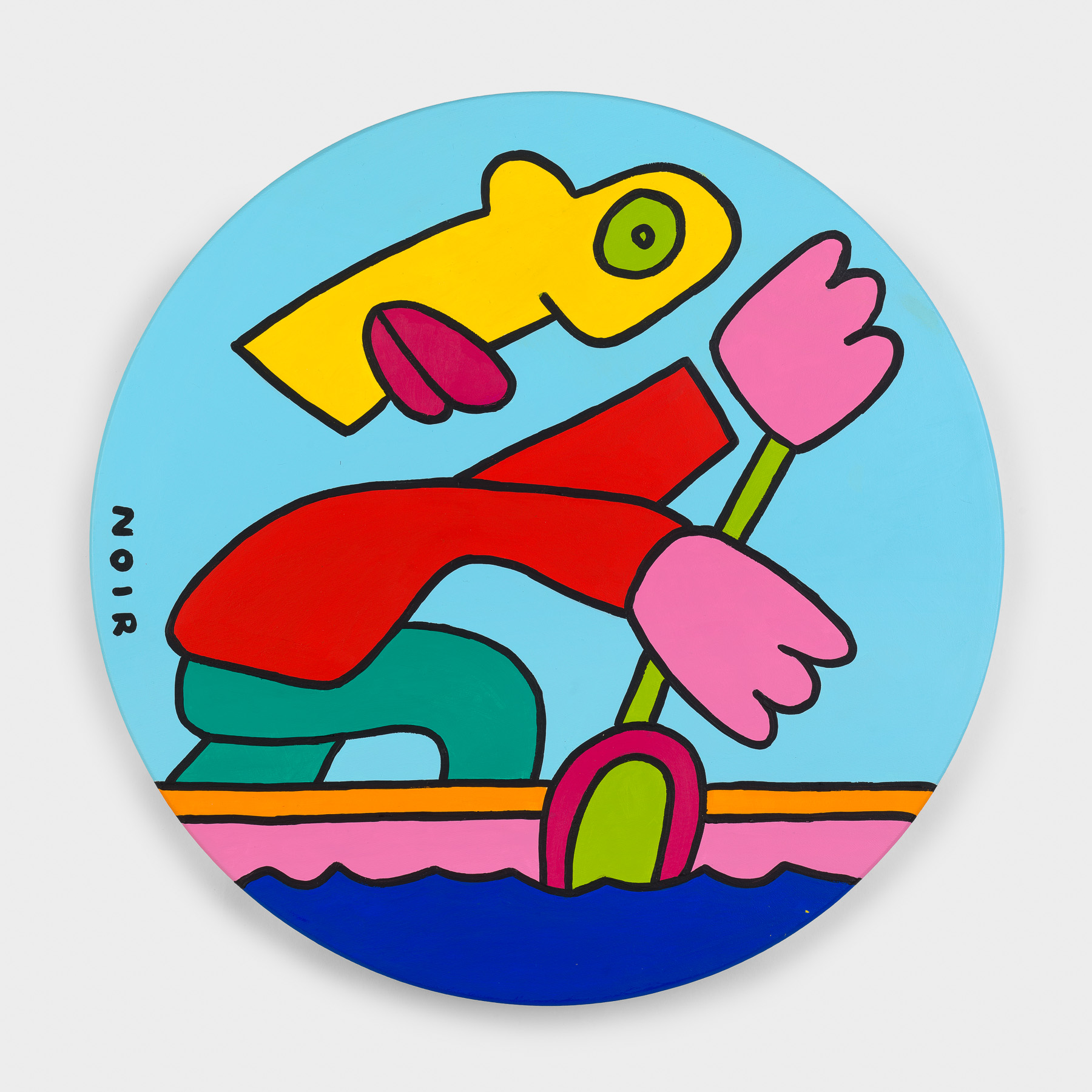 Thierry Noir-Gold-Canoe Sprint-Front