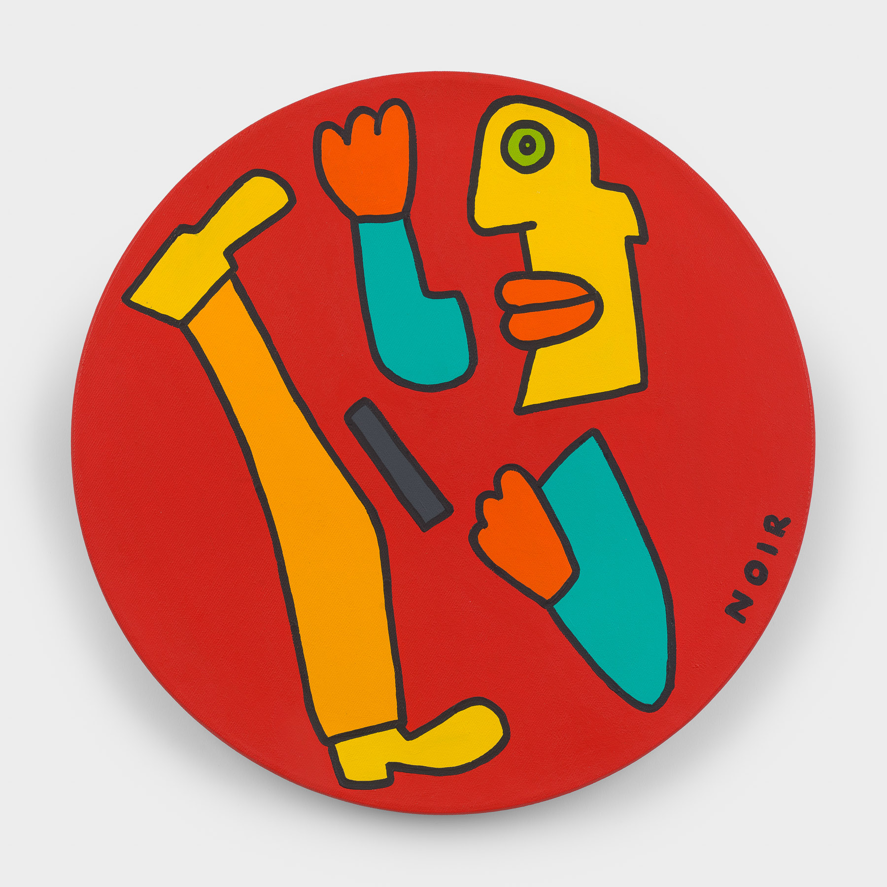 Thierry Noir-Gold-Karate-Front