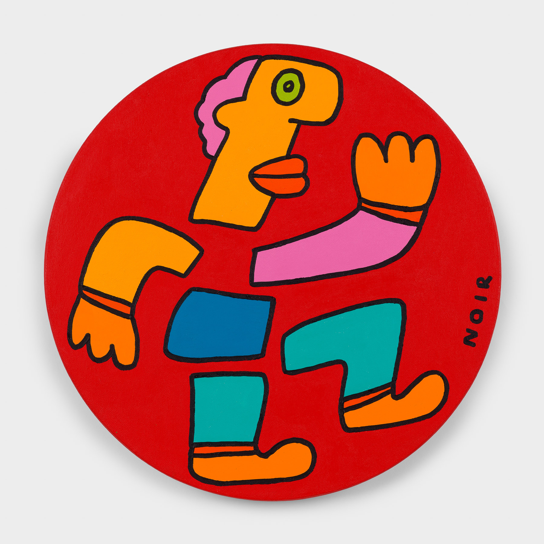 Thierry Noir-Gold-Running 100M-Front