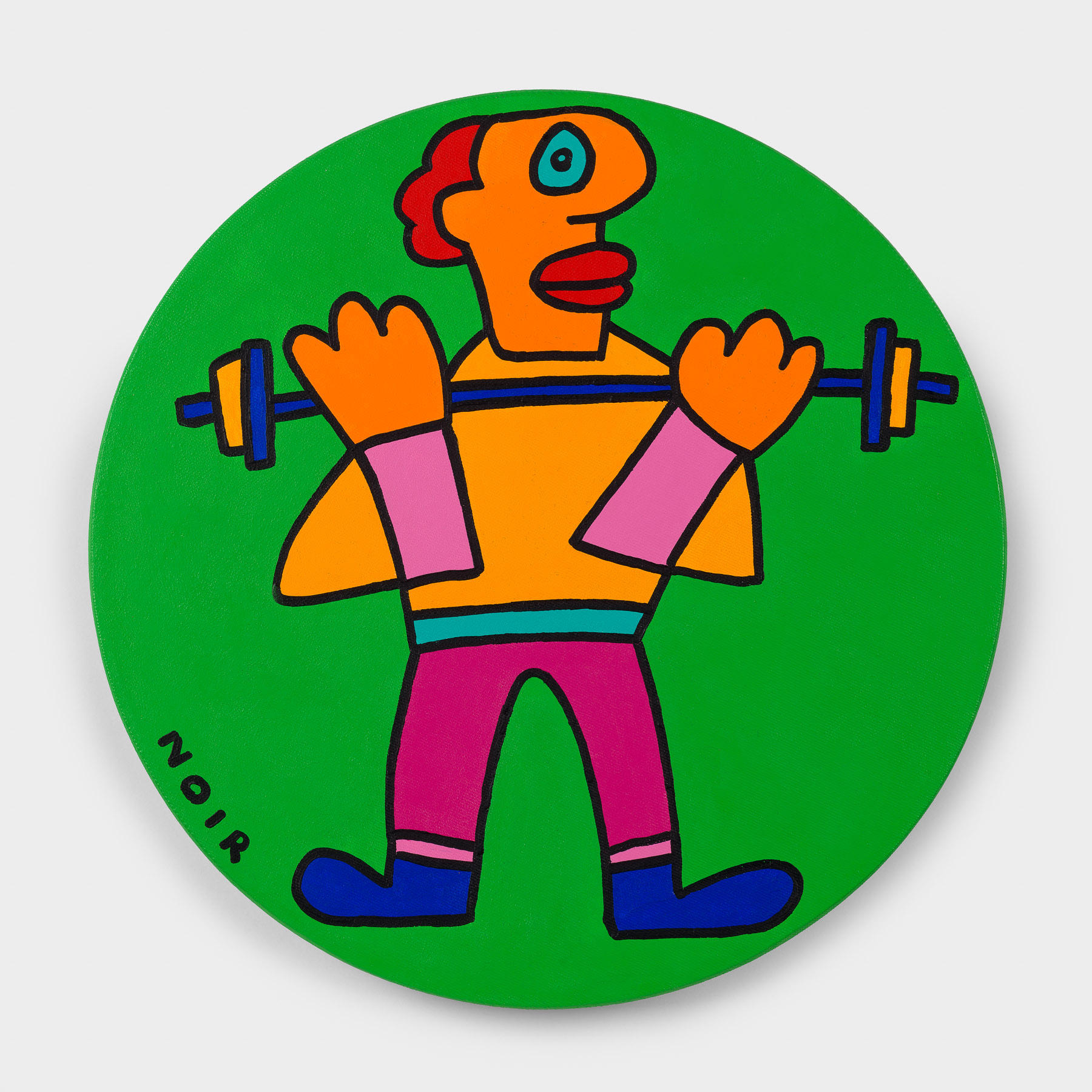 Thierry Noir-Gold-Weight Lifting-Front