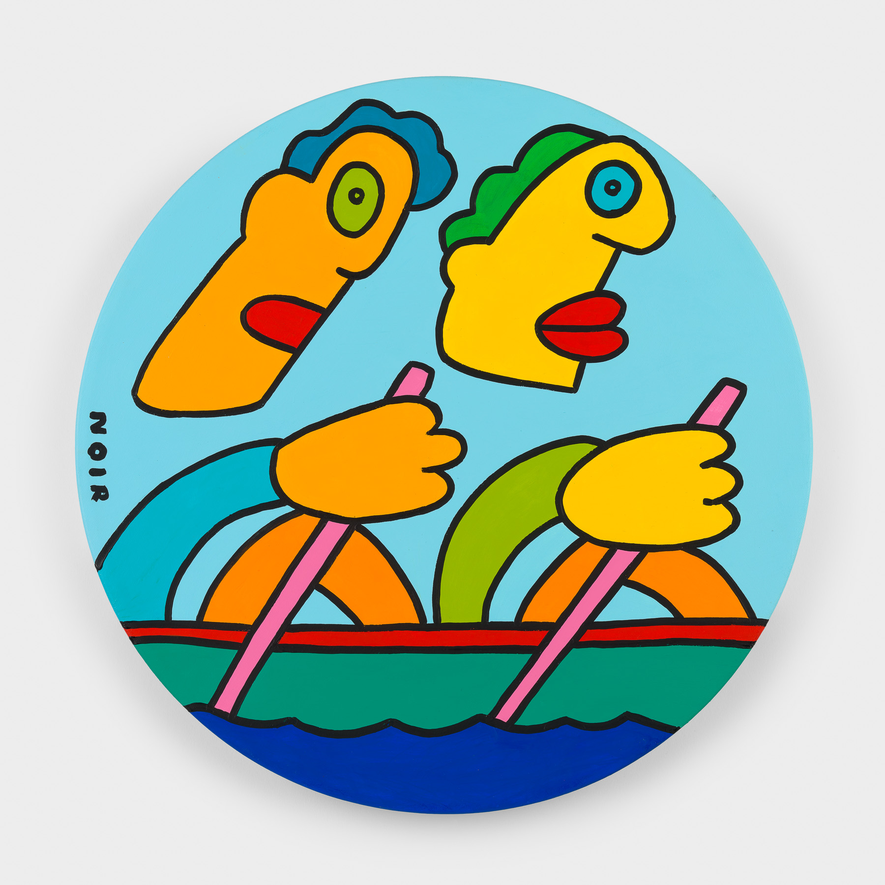 Thierry Noir-Gold-Rowing