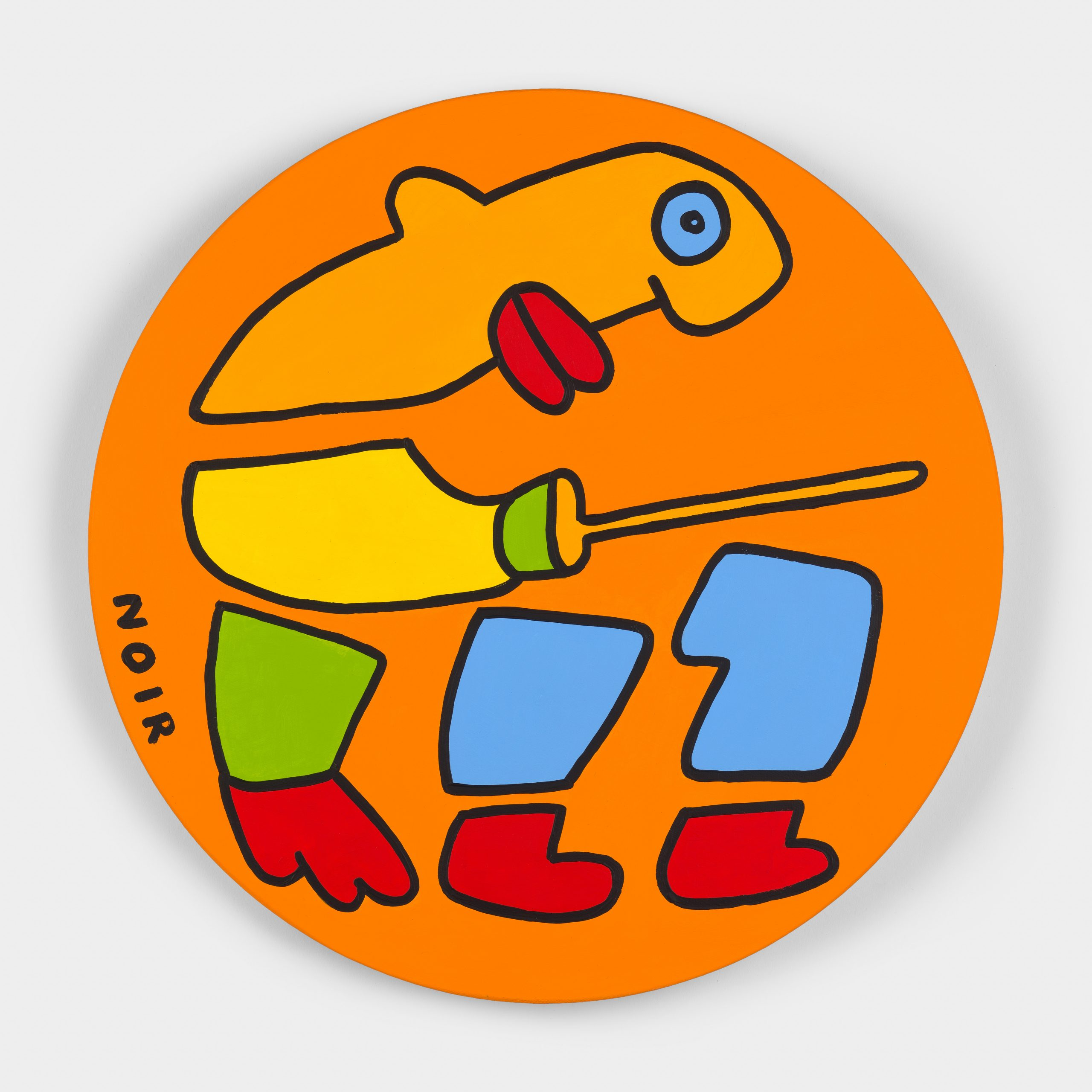 Thierry Noir-Gold-Fencing-Front